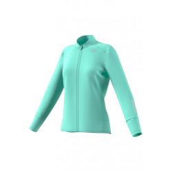 adidas Response Wind Jacket - Vestes course pour Femme - Bleu