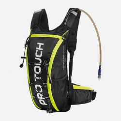 avis de coureurs sur le sac de trail avec poche à eau PRO TOUCH - couleur jaune