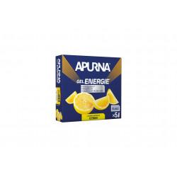 Apurna Etui gels -2h d'effort Citron Diététique Gels