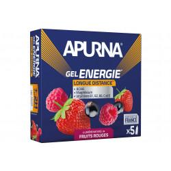 Apurna Etui gels +2h d'effort Fruits rouges Diététique Gels