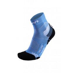 UYN Run Trail Challenge - Chaussettes running pour Femme - Bleu