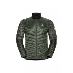 Odlo Jacket Insulated Neon Cocoon - Vestes course pour Homme - Vert