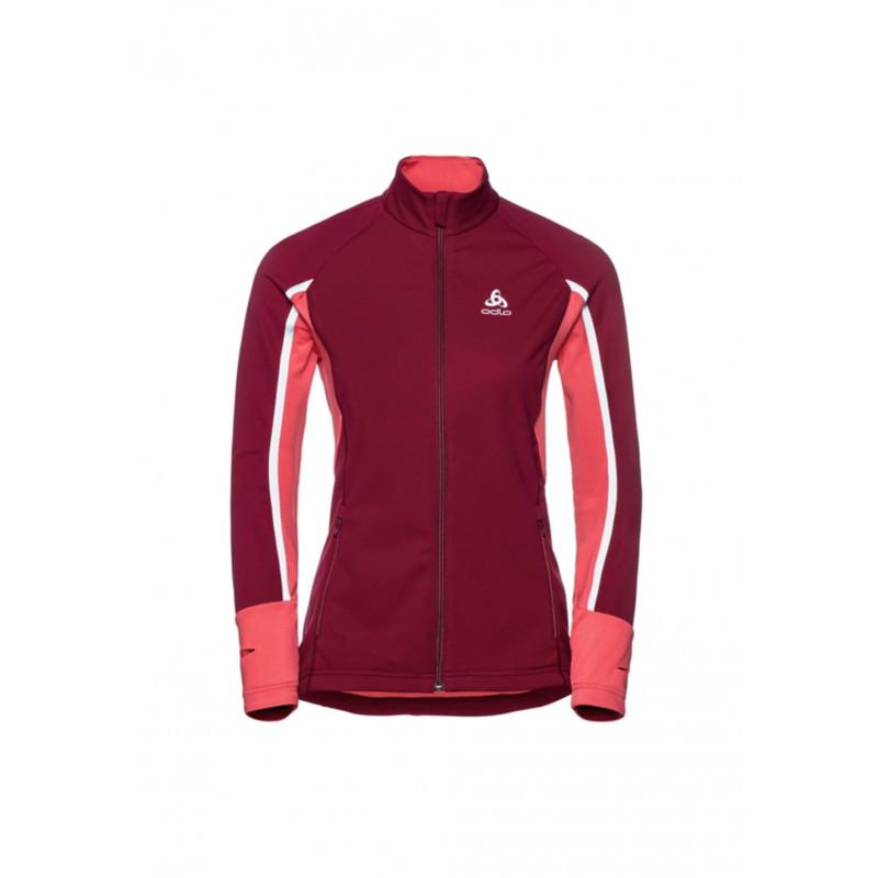Pro Rouge Jacket Avistest Femme Warm Course Odlo Pour Aeolus Vestes qqwRtf