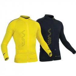WAA Ultra Carrier Shirt Manches Longues Homme 2.0 - coloris Noir et jaune