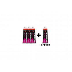 Nutrisens Sport Étui 3 Gels + 1 offert AC+ Anti-oxydant Liquide - Myrtille/Grenade Diététique Gels