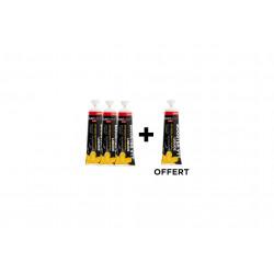 Nutrisens Sport Étui 3 Gels + 1 offert Booster - Orange/Pêche Diététique Gels