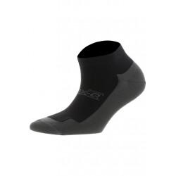 max-Q.com Performance Short Chaussettes running - Noir