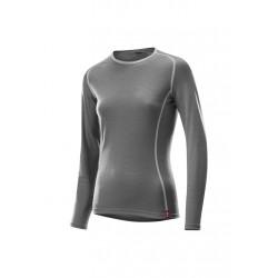 Löffler Transtex Merino Long Sleeve Shirt - Sous-vêtements sport pour Femme - Gris