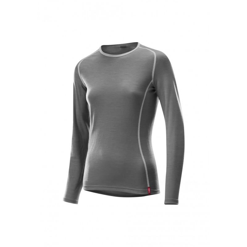 Löffler Transtex Merino Long Sleeve Shirt - Sous-vêtements sport pour Femme  - Gris c5c645a0f51