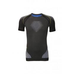 UYN Evolutyon Uw Shirt Short_sl. Melange - Sous-vêtements sport pour Homme - Noir