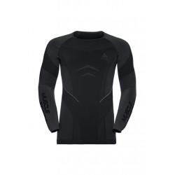 Odlo Top Crew Neck Long Sleeve Muscle - Sous-vêtements sport pour Homme - Noir
