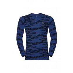 Odlo Set Warm God Jul - Sous-vêtements sport pour Homme - Bleu