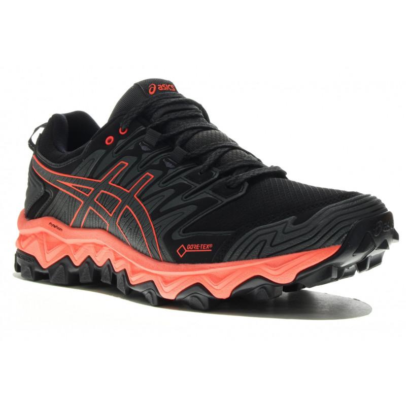 asics chaussure trail gortex femme