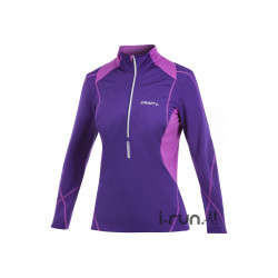 Craft Sweat Performance Thermal Wind 1/2 zip W vêtement running femme