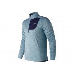 New Balance Heat Quarter 1/2 Zip M vêtement running homme