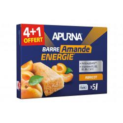 Apurna Étui barres énergétiques Abricot/Amande 4+1 Diététique Barres