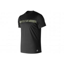 New Balance Accelerate Printed M vêtement running homme