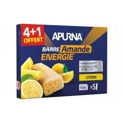 Apurna Étui barres énergétiques Citron/Amande 4+1 Diététique Barres