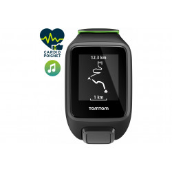 Tomtom Runner 3 Cardio + Music - Large Cardio-Gps