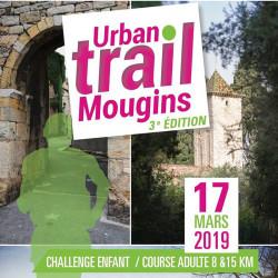 avis de coureurs sur l'Urban Trail de Mougins - affiche édition 2019