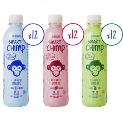 Avis sur la boisson Smart Chimp à l'extrait de spiruline