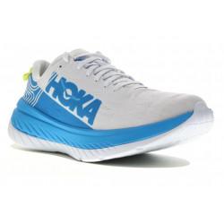 Hoka One One Carbon X M Chaussures homme en coloris blanc et bleu ; autres coloris