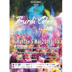 La Burdi'Color - affiche édition 2019 - avis et récits de coureurs runagora