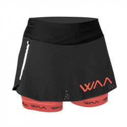 WAA ULTRA Skirt - couleur noir corail