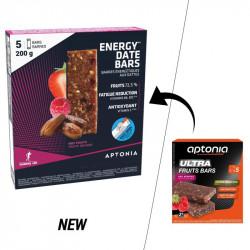 Aptonia Barre énergétique aux dattes et fruits rouges 5x40g