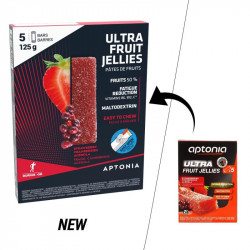 Aptonia Pâte de fruits ULTRA fraise cranberries acérola 5x25g