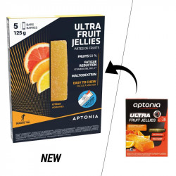 Aptonia Pâte de fruits ULTRA agrumes 5x25g
