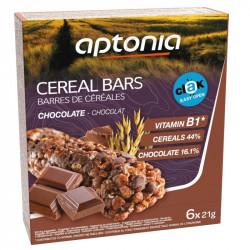 APTONIA Barre de céréales CLAK chocolat 6x21g