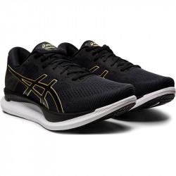 Asics GLIDERIDE chaussures running homme - coloris BLACK/PURE GOLD avis de coureurs