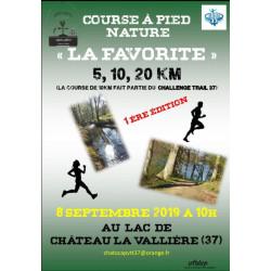 La Favorite Château-La-Vallière - affiche 1ère édition septembre 2019