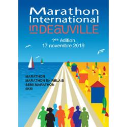 Marathon International in Deauville affiche de la première édition 2019