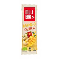 Mulebar Barre Energétique Mango Tango - Mangue/Noix de Cajou Diététique Barres