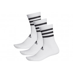 adidas 3-Stripes Cushioned Crew Chaussettes