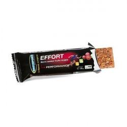 ERGYSPORT barre Effort - barre énergétique saveur fruits rouges