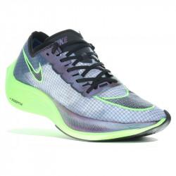 Nike ZoomX Vaporfly Next% M Chaussures running homme - coloris Coloris : vert fluo, bleu