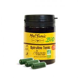 Spiruline Tonic Bio - MELTONIC - conditionnement en boîte de 60 gélules