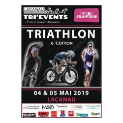 Lacanau Tri'Events Médoc Atlantique - édition de mai 2019. édition 2020 annulée -