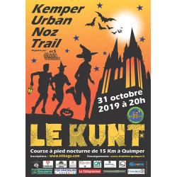 Kemper Urban Noz Trail - KUNT affiche d'édition 2019