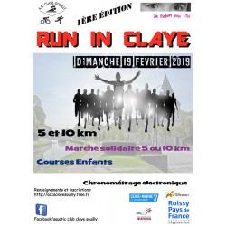 Run In Claye - édition 2019