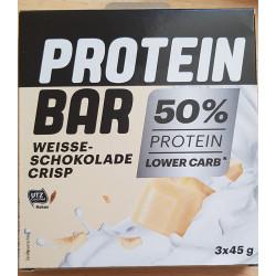 Protein bar weisse chokolade