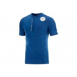 Compressport Trail Half-Zip Fitted Mont Blanc 2020 M vêtement running homme