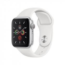 Apple Watch series 5 - coloris blanc