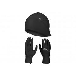 Nike Pack Dry Lightweight Fleece bonnet + gants M Bonnets / Gants