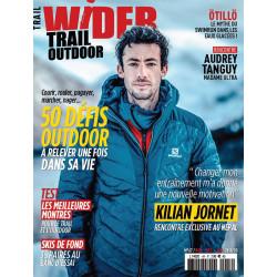 WIDER magazine couverture Kilian Jornet de l'édition n°47 de novembre-décembre-janvier