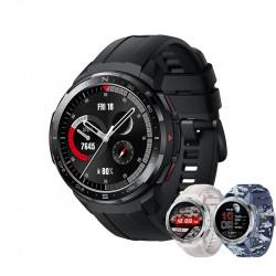 Honor Watch GS PRO coloris noir et 2 coloris camouflages bleu ou gris