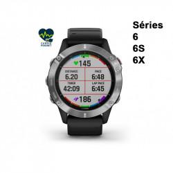 Garmin Fenix 6 Cardio-Gps montre running cardio au poignet ; existe en 9 différentes